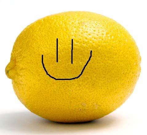 smiley lemon